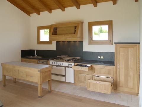 Cucine In Legno Naturale : Cucina legno naturale cerantola